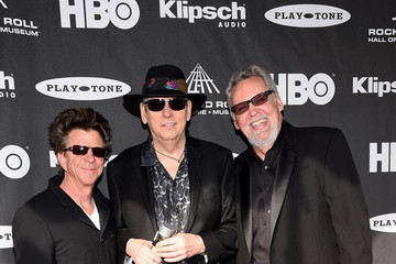 Chris Layton 30th Annual Rock And Roll Hall Of Fame Induction Ceremony - Arrivals