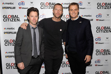 Chris Martin Global Citizen 2015 Launch Party At W New York - Union Square