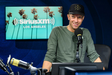 Chris Martin Chris Martin Visits The SiriusXM Hollywood Studios In Los Angeles