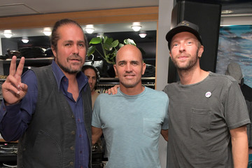 Chris Martin Outerknown Celebrates The Launch of S.E.A. JEANS At Ron Herman
