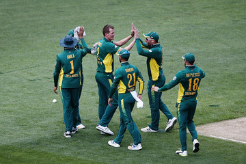 Chris Morris New Zealand v South Africa - 5th ODI