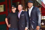 Director/writer Paul Brinkman and actors Chris O'Donnell and LL Cool J attend a ceremony honoring Chris O'Donnell with the 2544th Star on Hollywood Walk Of Fame on March 5, 2015 in Hollywood, California.