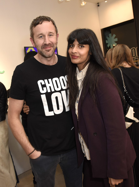 Choose Love Launches In Los Angeles On Giving Tuesday [fashion,event,outerwear,t-shirt,fashion design,jameela jamil,chris odowd,love launches,los angeles,california,choose love launches]
