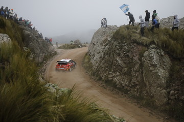 Chris Patterson FIA World Rally Championship Argentina - Day Three