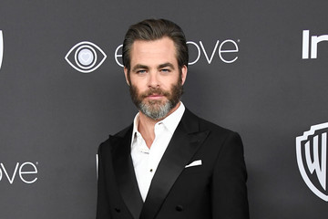 Chris Pine Warner Bros. Pictures and InStyle Host 18th Annual Post-Golden Globes Party - Arrivals