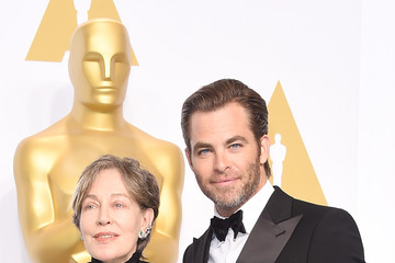 Chris Pine 87th Annual Academy Awards Press Room