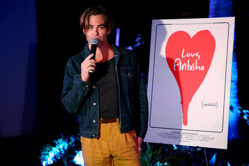 Chris Pine 10th Anniversary Screening Of 'Star Trek' At Hollywood Forever And Trailer Premiere Of 'Love, Antosha'