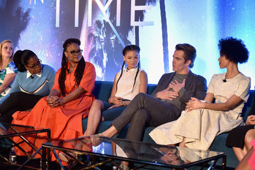 Chris Pine 'A Wrinkle In Time' Press Conference