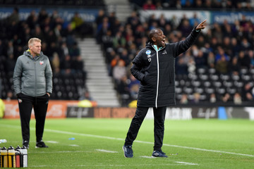 Chris Powell Derby County v Brentford - Sky Bet Championship