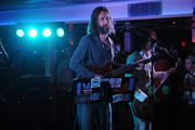 Lead singer Chris Robinson of the music group Chris Robinson Brotherhood performs on stage at Luxury Infinity Yacht on June 6, 2014 in New York City.