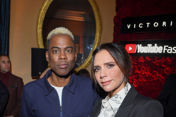 Chris Rock Victoria Beckham x YouTube Fashion & Beauty After Party At London Fashion Week Hosted By Derek Blasberg And David Beckham