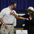 Chris Rock New York Governor Andrew Cuomo Holds His Daily Coronavirus In Brooklyn