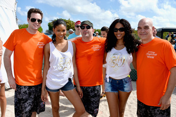 Chris Santos Sports Illustrated Swimsuit Beach Volleyball Tournament on Ocean Drive