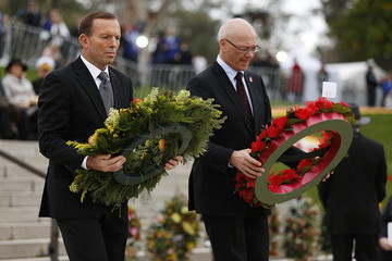 Chris Seed The Royal Couple Attends Dawn Services