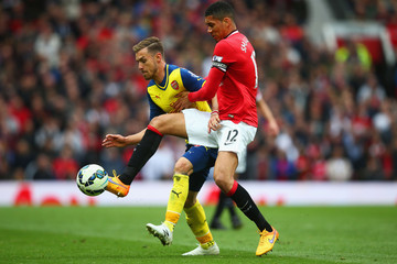 Chris Smalling Manchester United v Arsenal - Premier League
