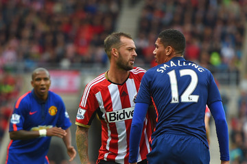 Chris Smalling Sunderland v Manchester United