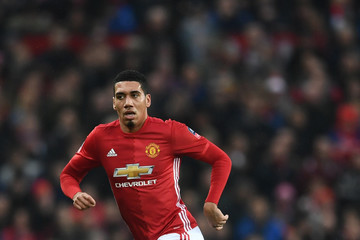 Chris Smalling Manchester United v Wigan Athletic - The Emirates FA Cup Fourth Round