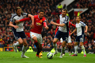 Chris Smalling Manchester United v West Bromwich Albion - Premier League