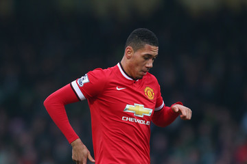 Chris Smalling Yeovil Town v Manchester United - FA Cup Third Round