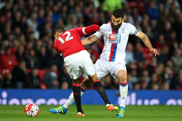 Chris Smalling Manchester United v Crystal Palace - Premier League