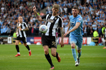 Chris Stokes Notts County Vs. Coventry City - Sky Bet League Two Play Off Semi Final: Second Leg