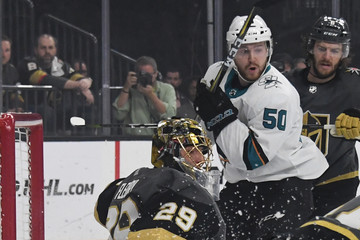 Chris Tierney San Jose Sharks vs. Vegas Golden Knights - Game Five