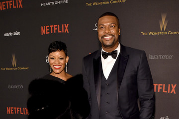 Chris Tucker The Weinstein Company and Netflix Golden Globe Party - Red Carpet