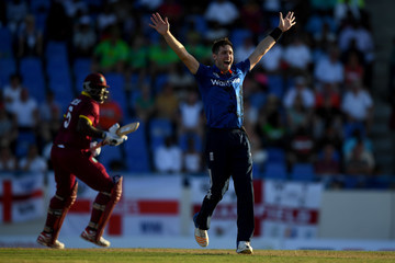 Chris Woakes West Indies v England - 1st ODI