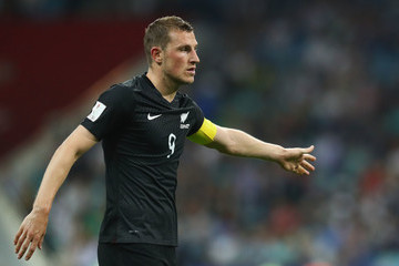 Chris Wood Mexico v New Zealand: Group A - FIFA Confederations Cup Russia 2017