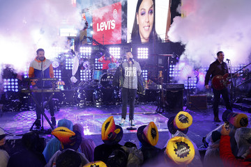 Chris Wood Will Farquarson Times Square New Year's Eve 2019 Celebration