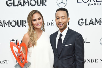 Chrissy Teigen 2018 Glamour Women Of The Year Awards: Women Rise - Backstage