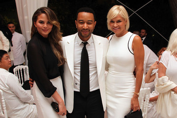 Chrissy Teigen Celebrity Fight Night In Italy Benefitting The Andrea Bocelli Foundation And The Muhammad Ali Parkinson Center