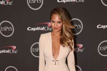 Chrissy Teigen Backstage at the ESPYS