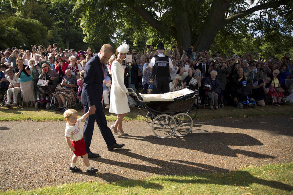 Princess Charlotte's Christening: See the Adorable Photos!