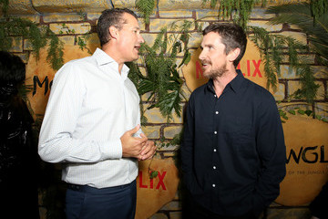 Christian Bale Los Angeles Special Screening of 'Mowgli: Legend Of The Jungle'