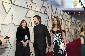 Christian Bale Sibi Bale 91st Annual Academy Awards - Red Carpet