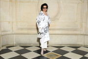 Bianca Jagger attends the Christian Dior show as part of the Paris Fashion Week Womenswear Fall/Winter 2019/2020 on February 26, 2019 in Paris, France.