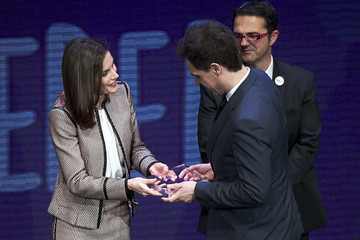 Christian Galvez Queen Letizia Of Spain Attends the Rare Diseases Day