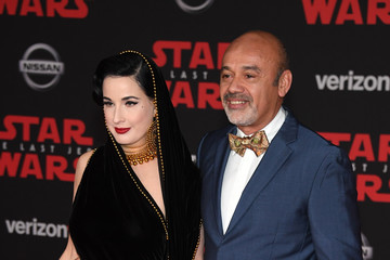 Christian Louboutin Premiere of Disney Pictures and Lucasfilm's 'Star Wars: The Last Jedi' - Arrivals