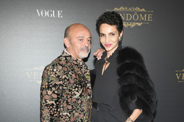 Christian Louboutin Farida Khelfa Vogue Party Arrivals - Paris Fashion Week Womenswear S/S 2018