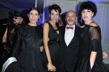 Christian Louboutin Farida Khelfa Sidaction Gala Dinner 2013 - Inside