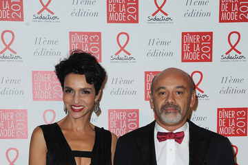 Christian Louboutin Farida Khelfa Sidaction Gala Dinner 2013 - Photocall