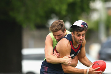 Christian Salem Melbourne Demons Training Session