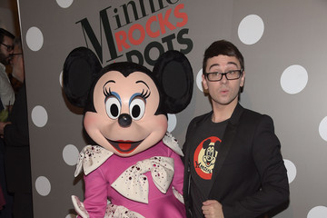 Christian Siriano Minnie Mouse Rocks The Dots Art And Fashion Exhibit - Arrivals