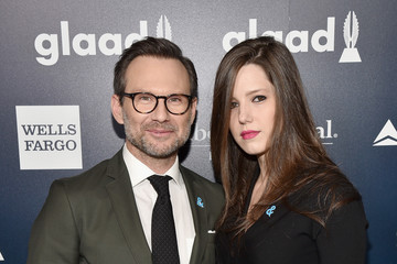 Christian Slater Brittany Lopez 28th Annual GLAAD Media Awards - Red Carpet & Cocktails