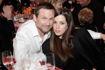 Christian Slater Brittany Lopez 29th Annual Great Sports Legends Dinner