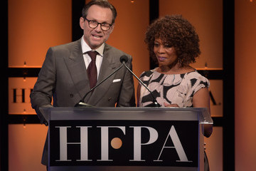 Christian Slater Hollywood Foreign Press Association's Grants Banquet - Show