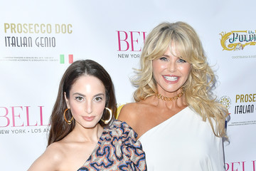 Christie Brinkley Alexa Ray Joel Alexa Ray Joel Hosts Bella New York's Beauty Cover Launch