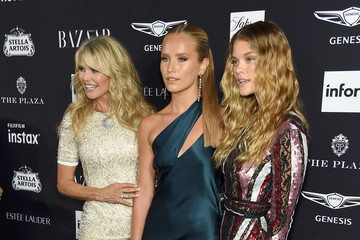 Christie Brinkley Sailor Brinkley Cook Harper's BAZAAR Celebrates 'ICONS' At The Plaza Hotel