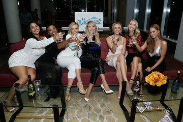 Christie Brinkley SI Swimsuit 2018 Model Search Celebration and Preview of the Sports Illustrated Swim and Active Collection at Mr. Purple in Hotel Indigo LES
